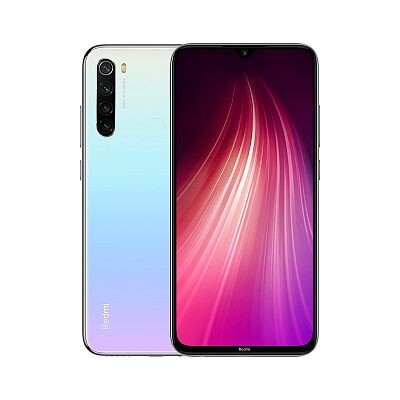 Смартфон Xiaomi Redmi Note 8 128GB/4GB (White/Белый)
